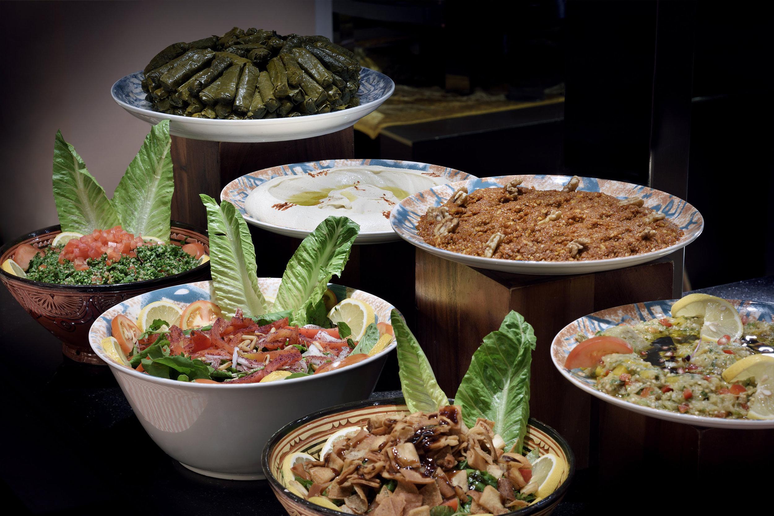 The Palace Downtown Dubai - Ewaan Restaurant - Cold Mezzeh.JPG