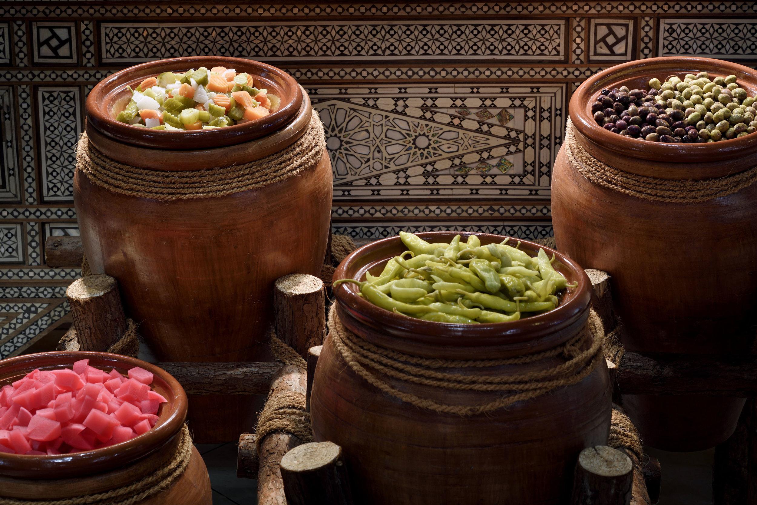 The Palace Downtown Dubai - Ewaan Restaurant - Condiments.JPG