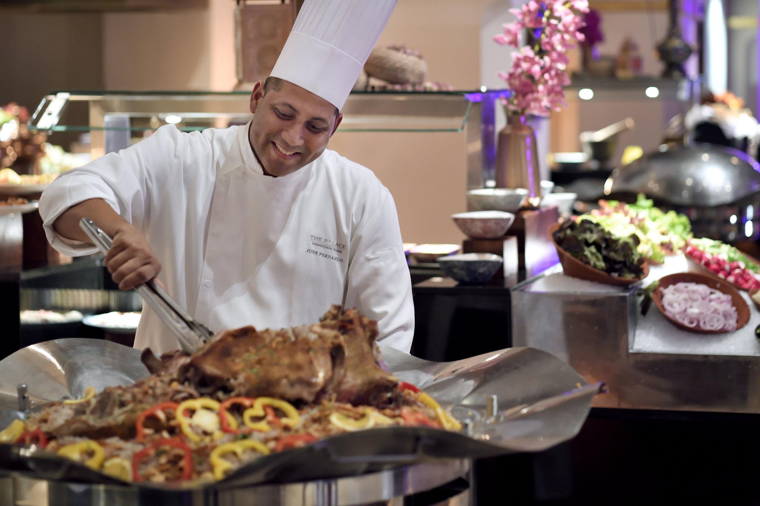 The Palace Downtown Dubai - Ewaan Restaurant - Ouzi Chef.JPG