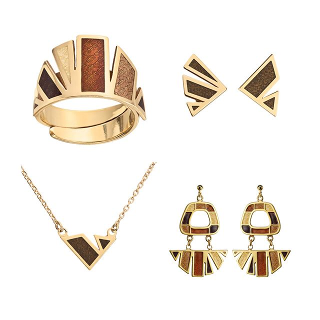 New bling in shop ✨ www.manikamini.com #goldsmith #enameljewelry #scandinaviandesign #jewelrydesigner #madeinnorway #pasionforwork