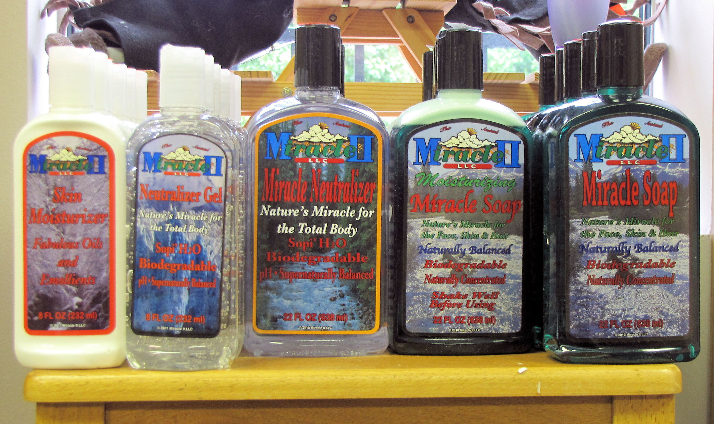 Miracle II products