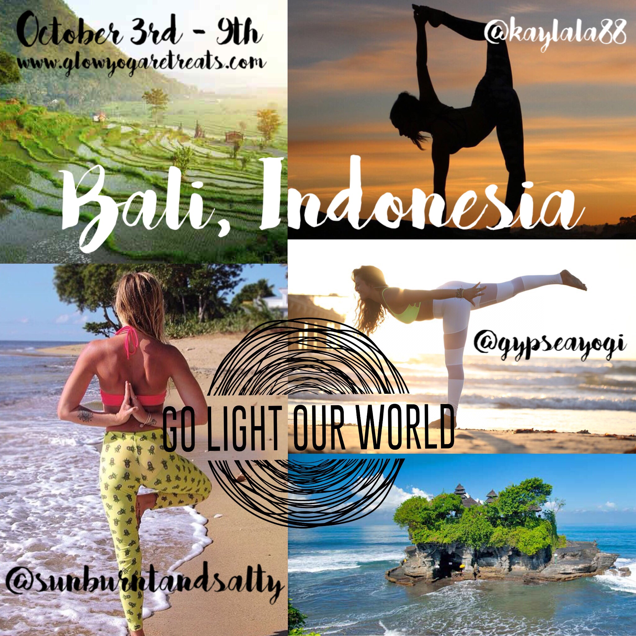 For more info and to sign up visit  GLOWyogaretreats.com