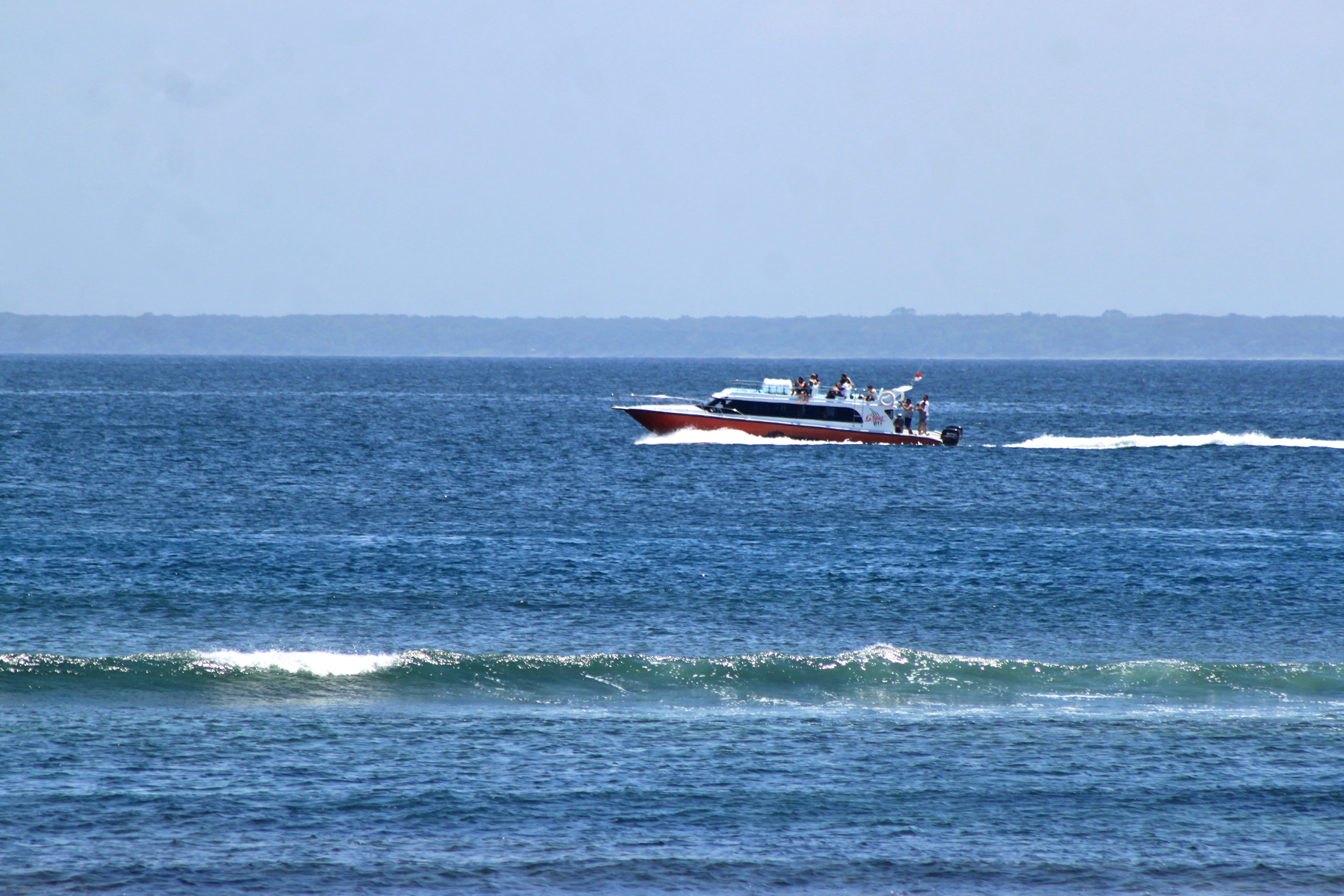 """The """"G-Force"""" Fast Boat to Bali"""