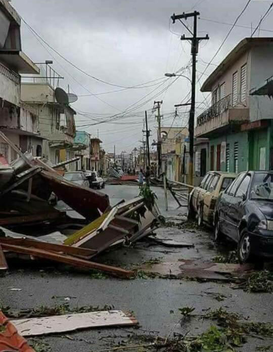 Damage in Anasco, PR. Facebook Image by Jonathan Aponte Torres