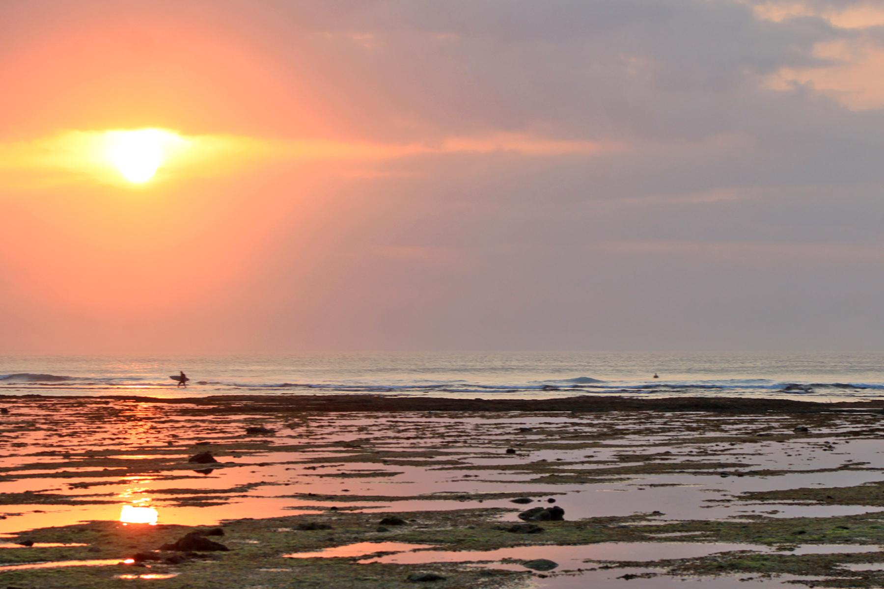 Sunset in Java