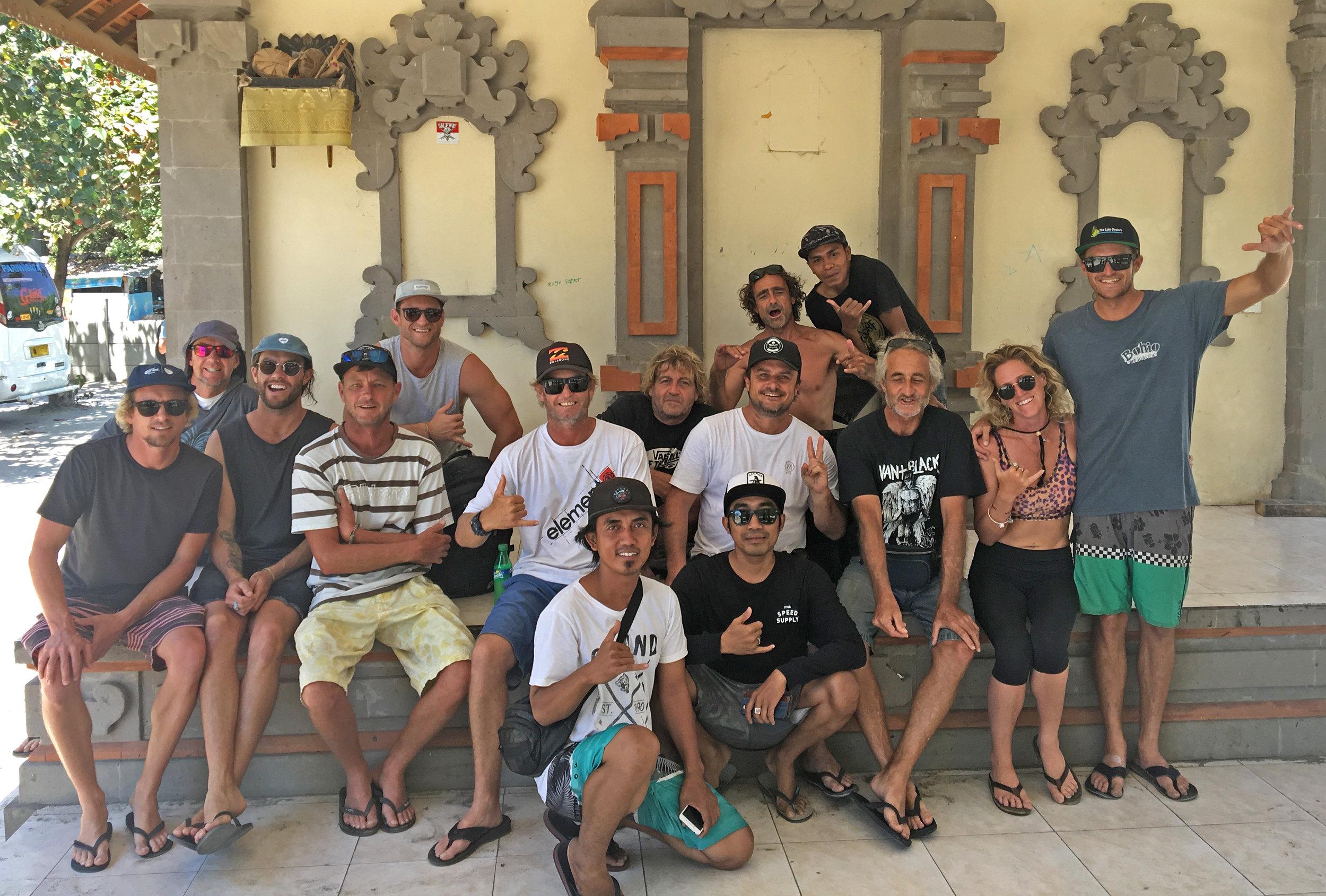 Our Joyo's Crew Back in Bali
