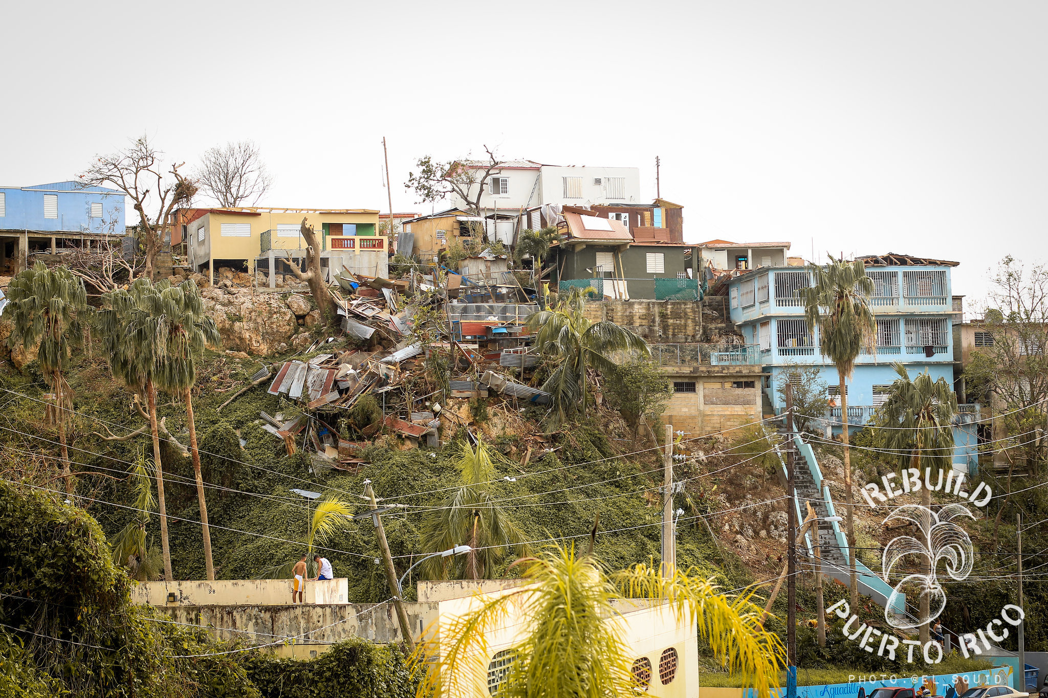 Entire neighborhoods destroyed. People's lives changed forever. // Photo by Anthony Dooley