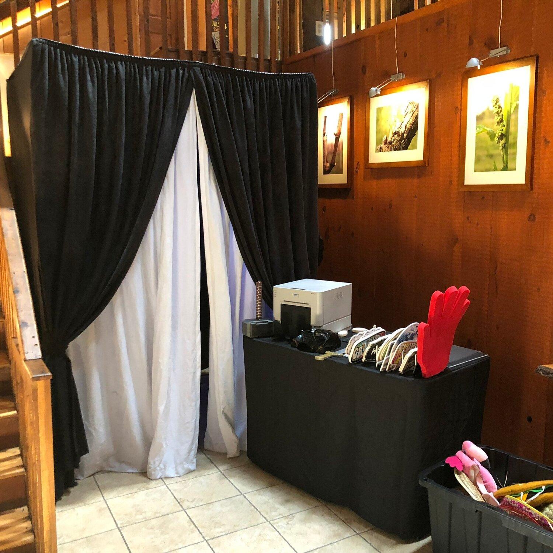 Original Enclosed Tuxedo Booth
