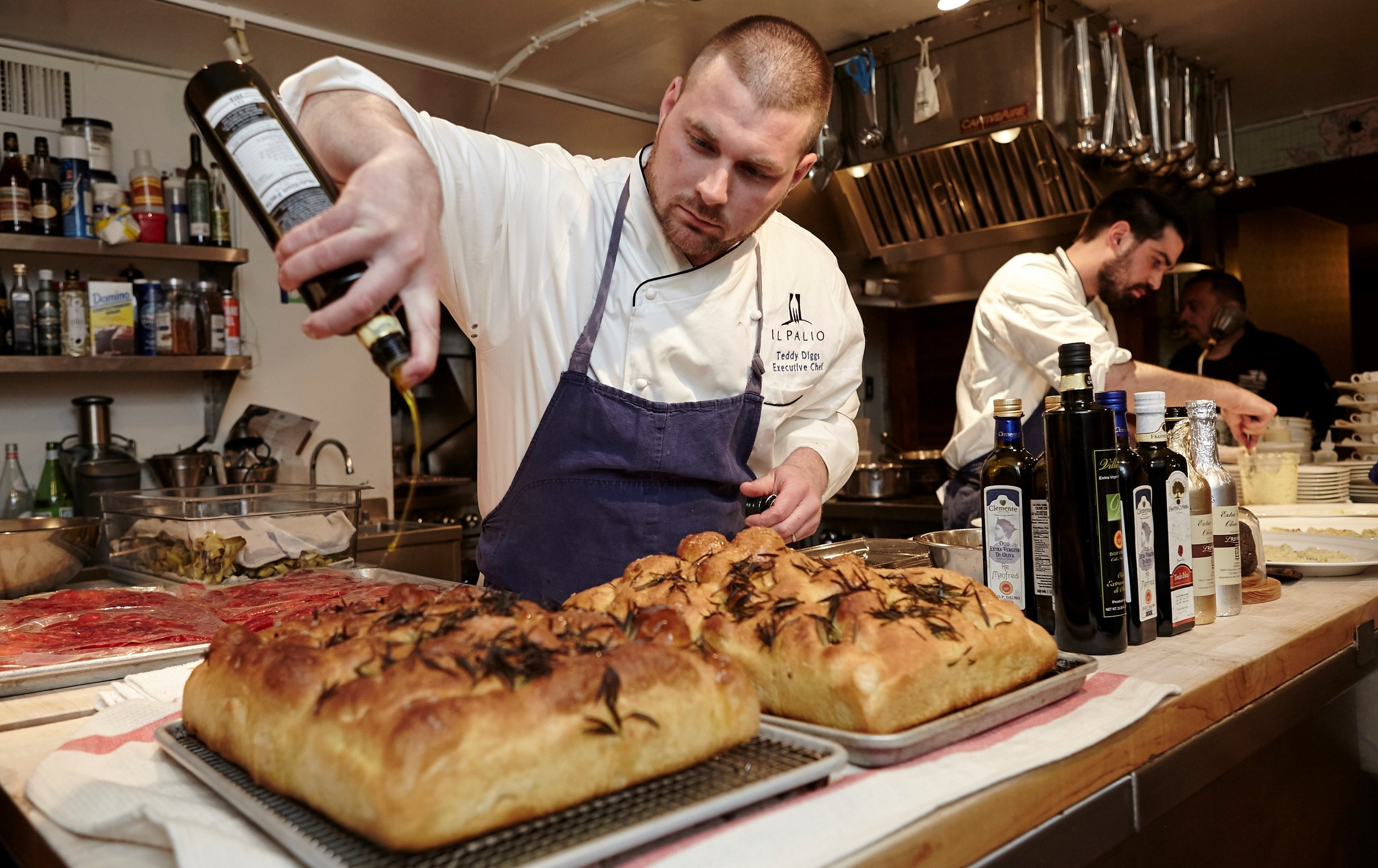 "Photograph by Martin Ramin for the James Beard Foundation Dinner ""Italian Olive Oil Roadtrip"""