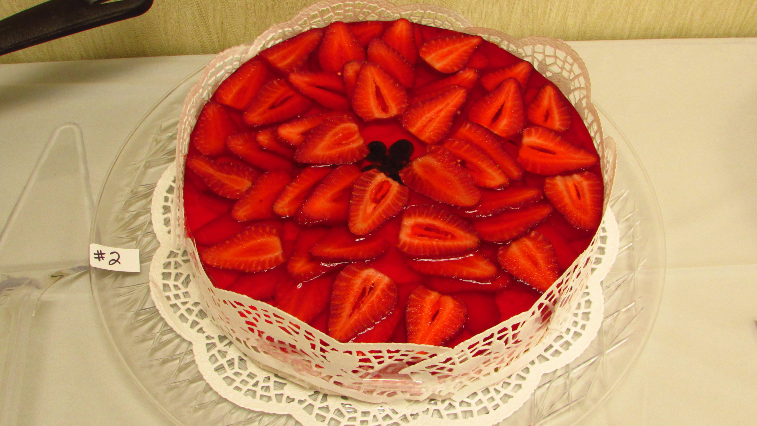 Strawberry Mousse Cake, courtesy of The North Carolina Department of Agriculture & Consumer Services