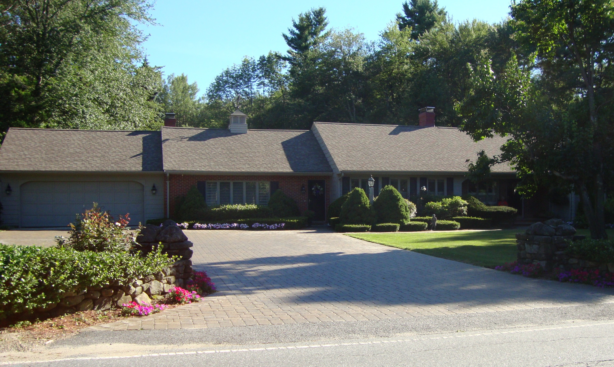 Paver Driveway in Chelmsford, Massachusetts
