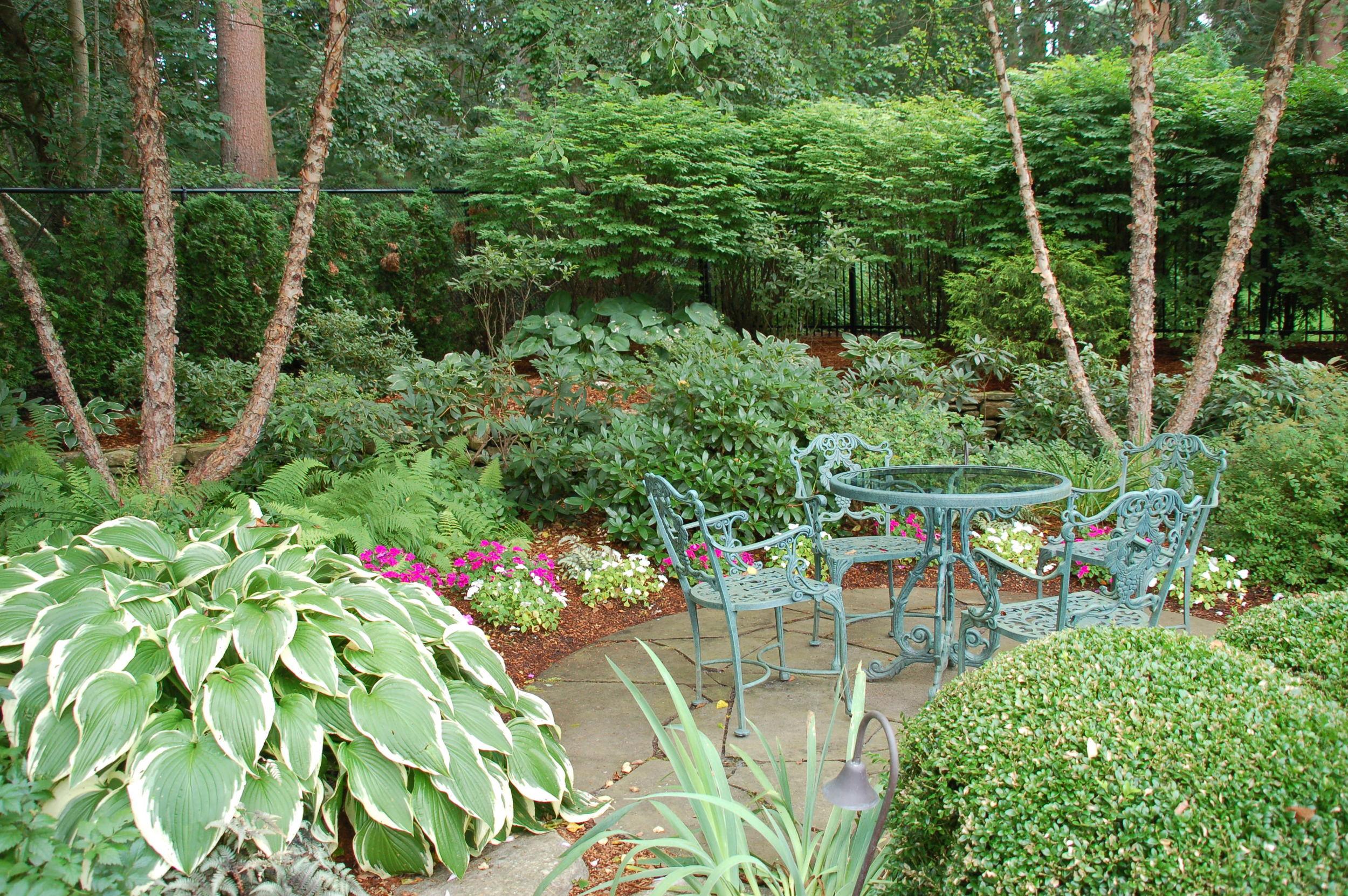 Rustic Patio and Garden, Andover