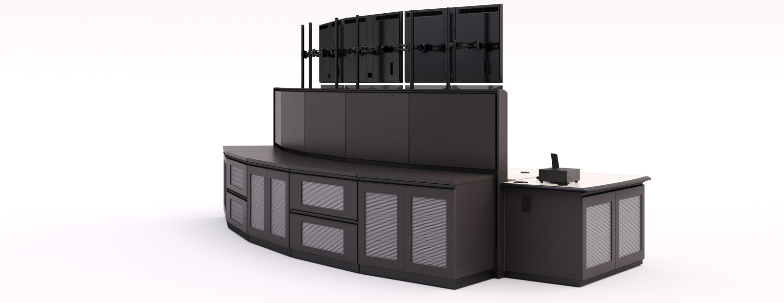 CONTROL ROOM SIT STAND DESK