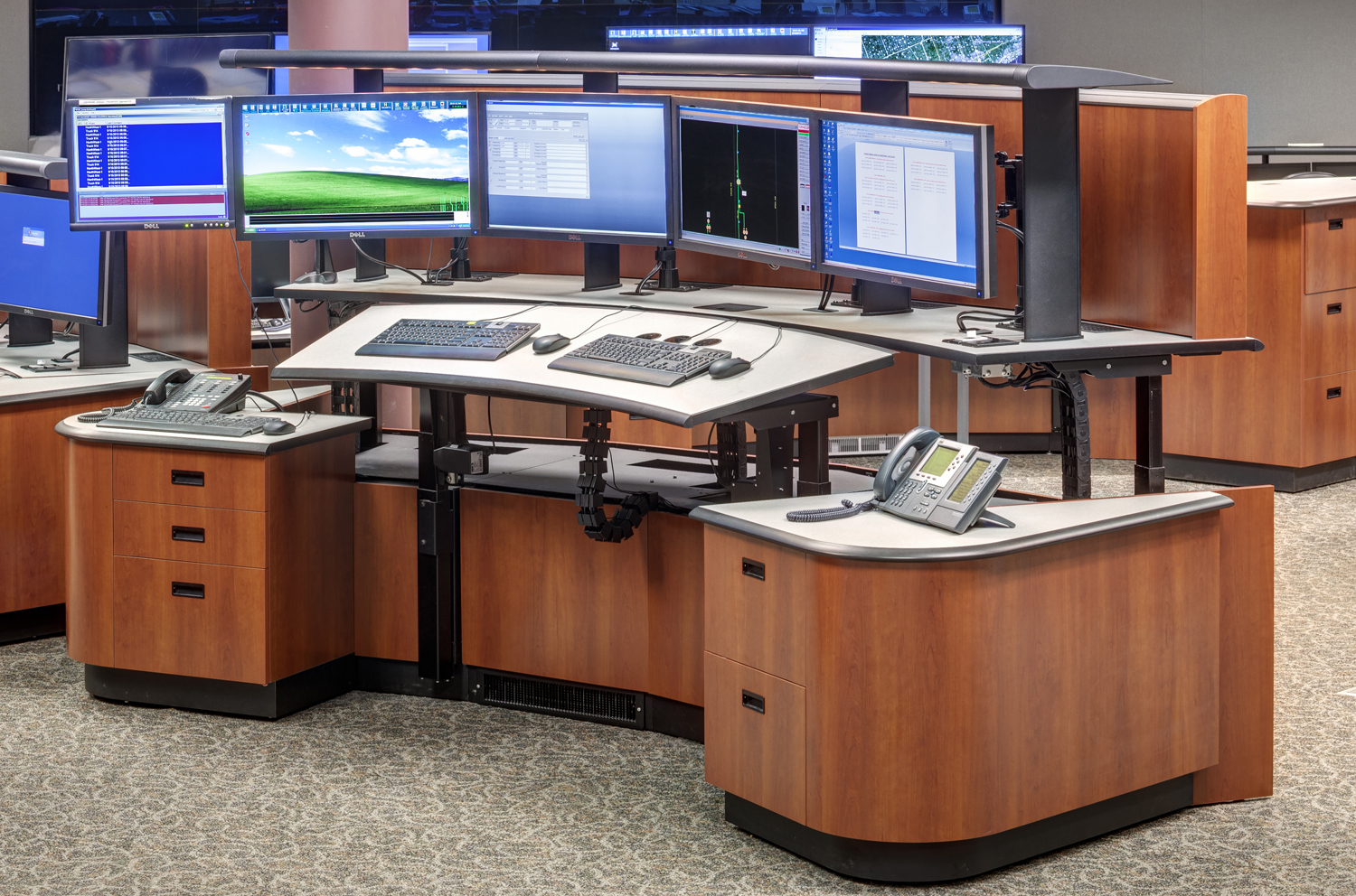 OUR SERVICES - Control Room Console