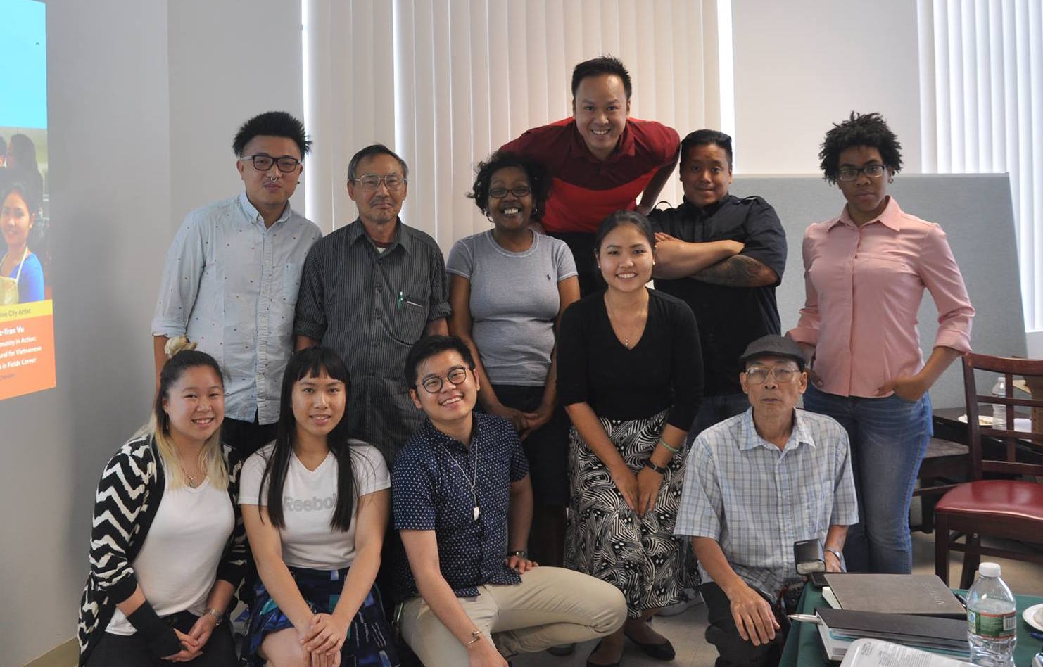 Top row: Tam Le; Middle row, left to right: Justin Nguyen, Hung Vu, Michelle Nguyen, Tommy Nguyen, and Grace Ejiwale; Awkward bottom row, left to right: Kathy Le, Joan DoTruong, Duoc Nguyen, Tran Vu, and Cuong Nguyen.  (Photo Credit: Kevin Lam); Missing: Tony Vu in the photo
