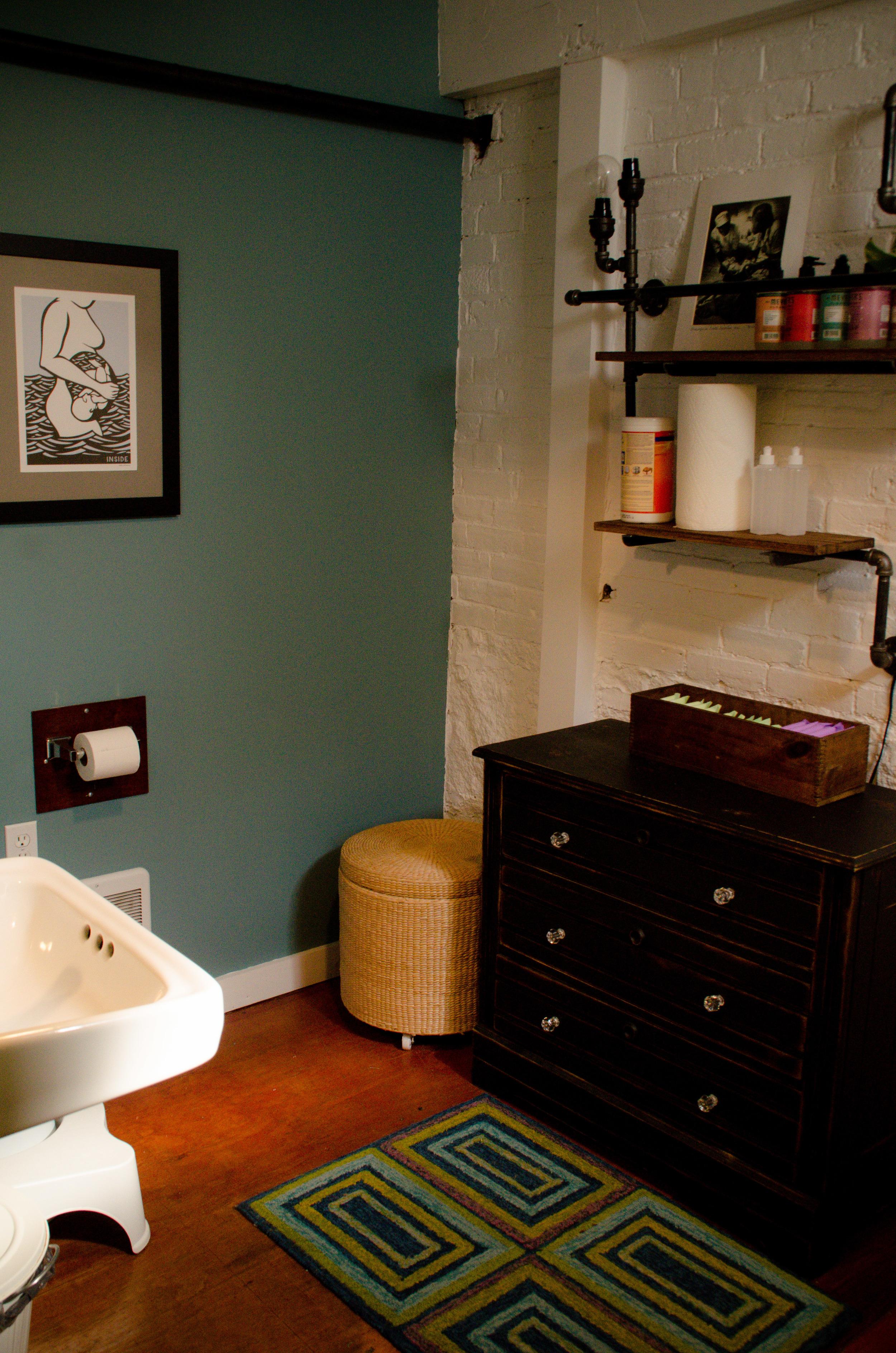 Birth Suite Bathroom