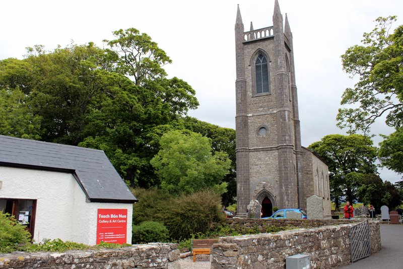 The Church at Drumcliff and Teach Bán Gallery