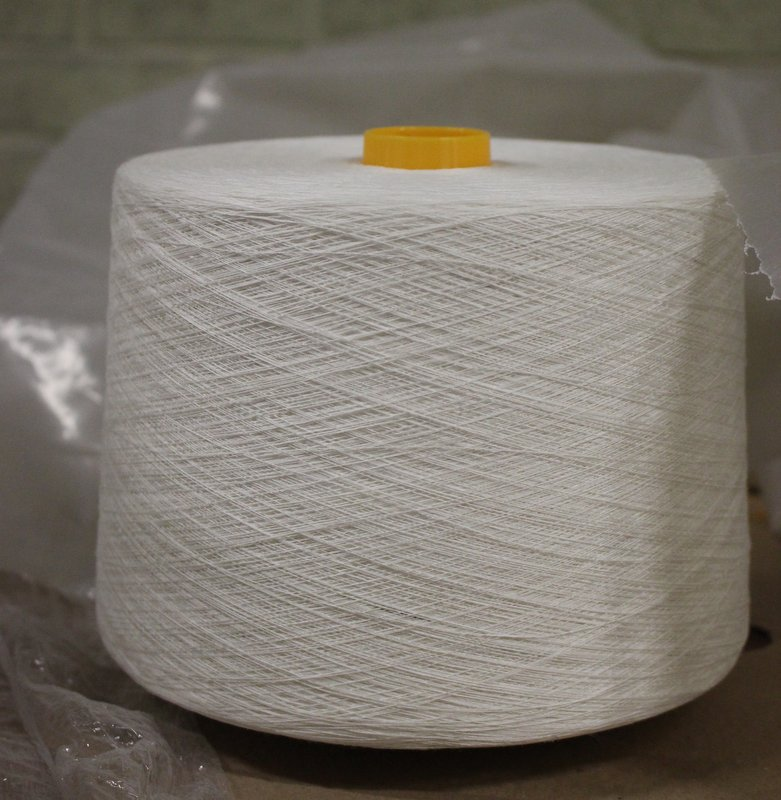 The fine linen thread is imported