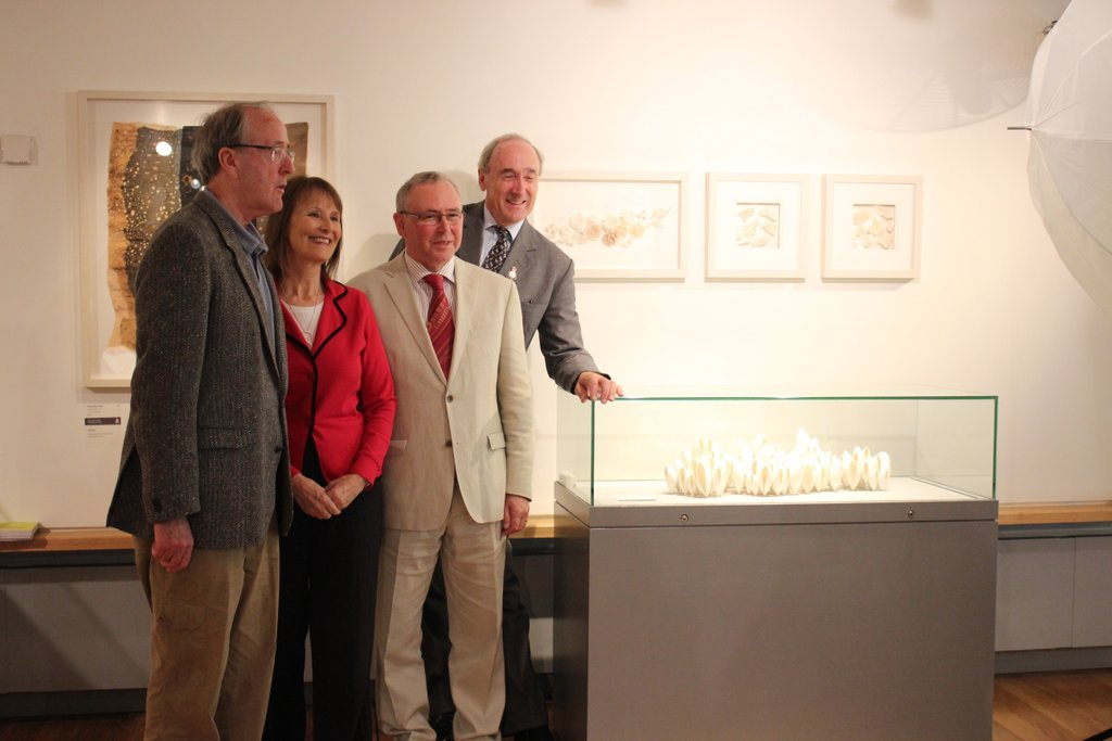 The exhibition looked great in The Museum of Country Life, loved the placement of my pieces beside those amazing ceramics.