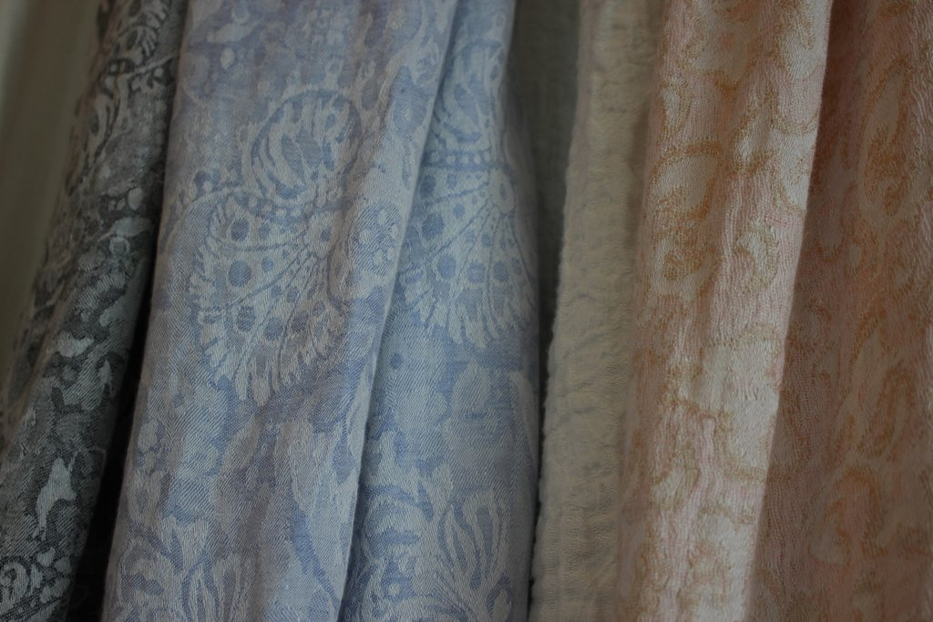 These samples are inspired by vintage French fabrics
