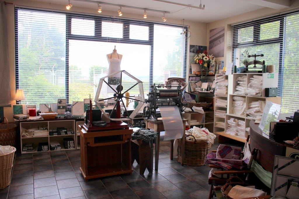 The shop at Ferguson's Irish Linen