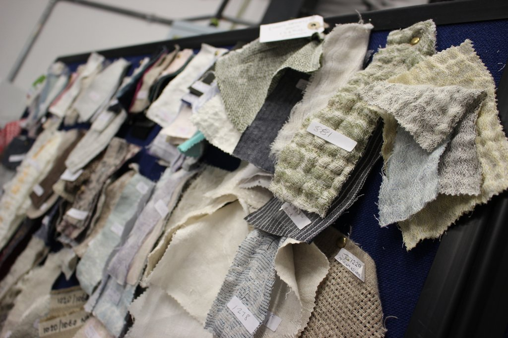 As a textile artist, what a treat to get to see these amazing working samples, some of which are used in film and theatre and many going to large international fashion houses.....serious awe!