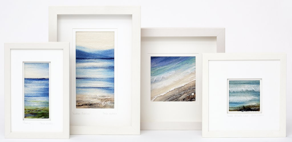Selection of Seascapes inspired by the Irish coastline