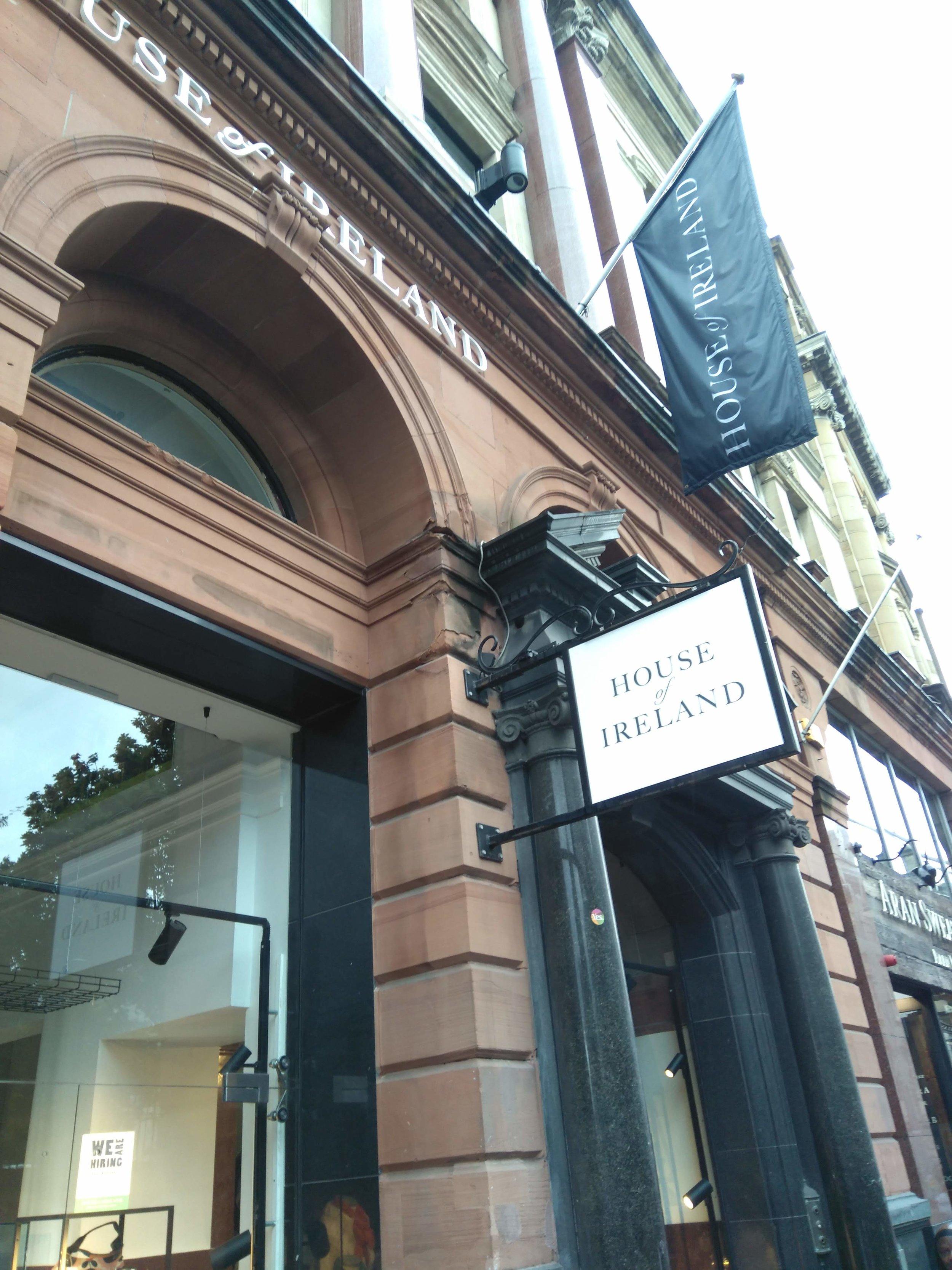House of Ireland, 114 Grafton Street,Dublin