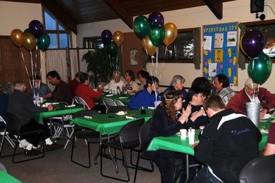 The St. John's Shrove Tuesday Pancake Dinner is a popular local event that supports the Mountain Family Center and Samaritan Ministries
