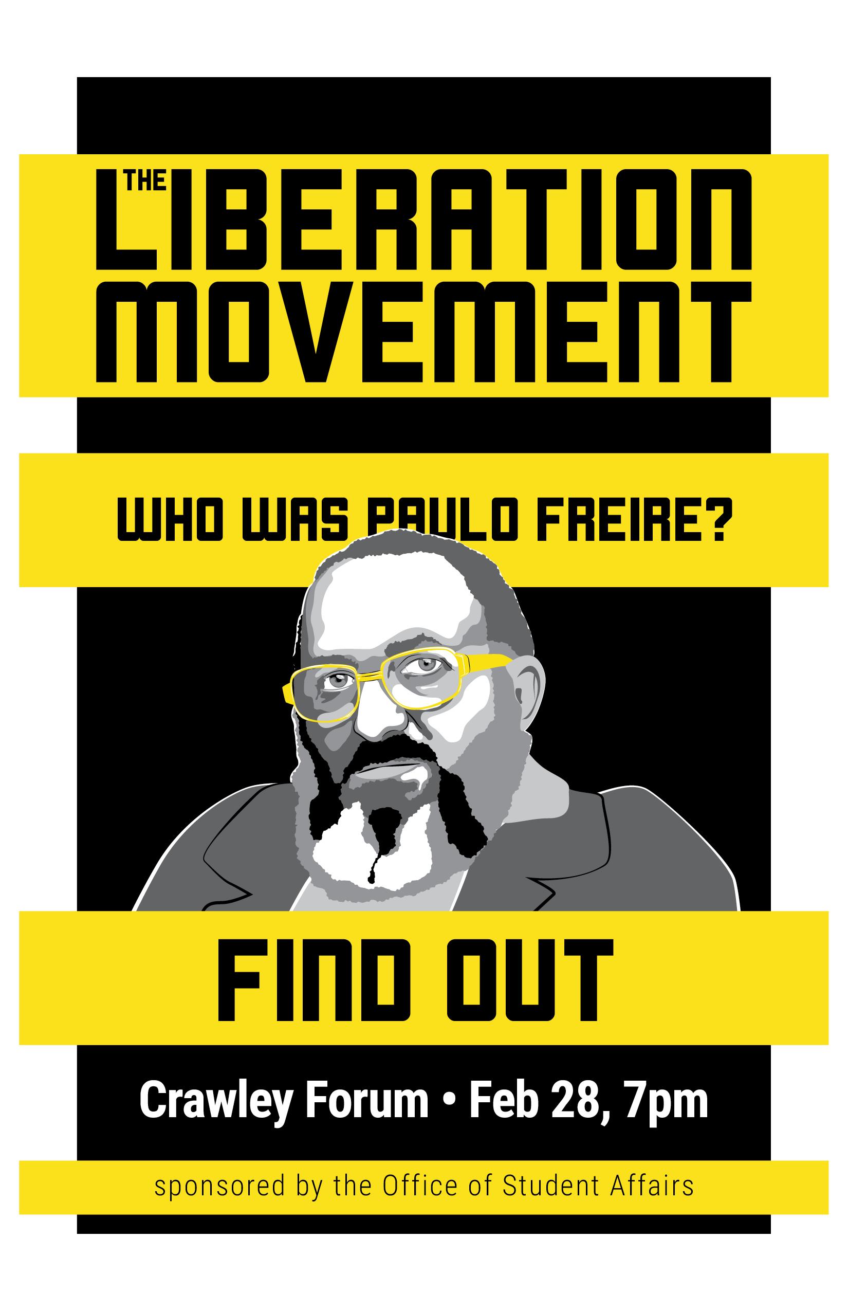 Liberation Movement: Friere