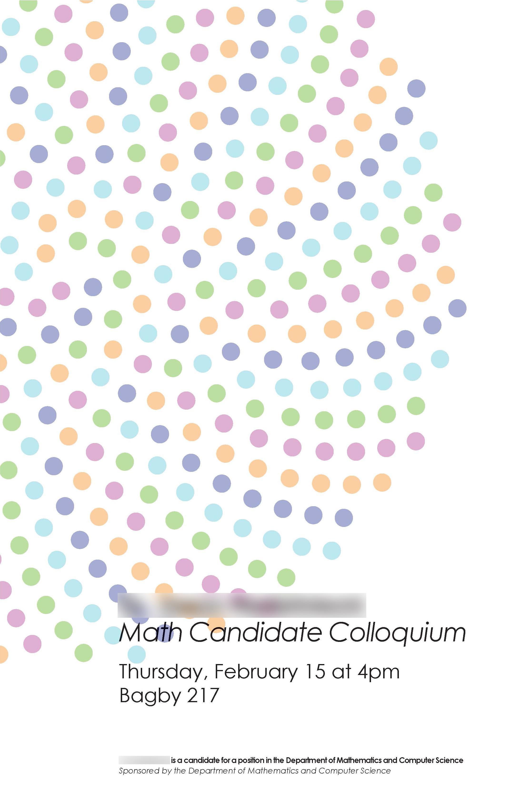 Math Candidate 2