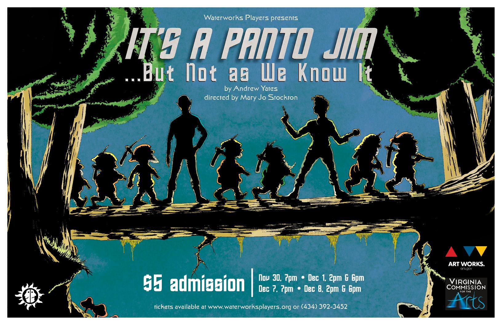 It's a Panto, Jim...