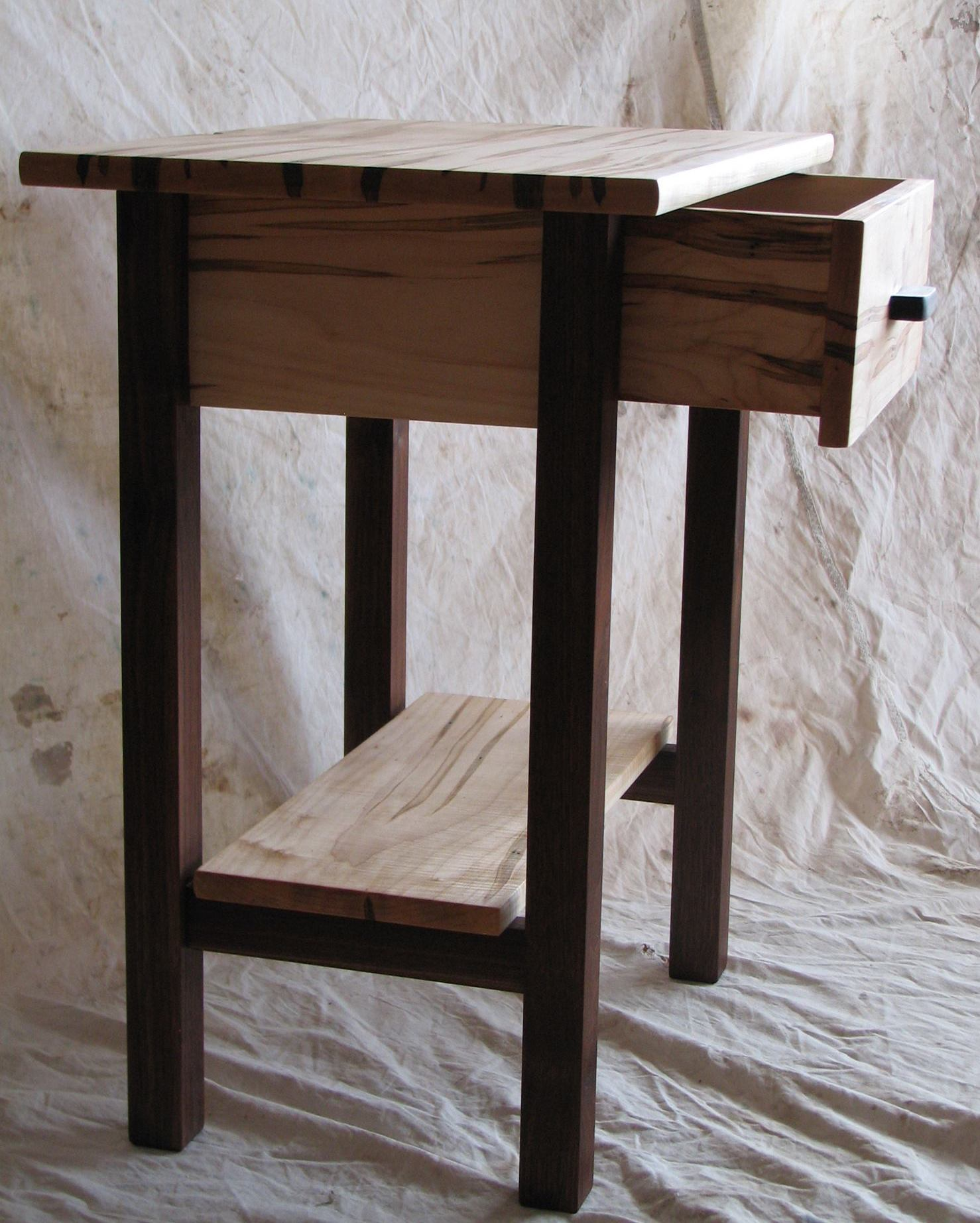 custom hand-made contemporary wooden furniture by Gary Havener