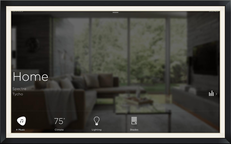 Savant App on iPad Mini