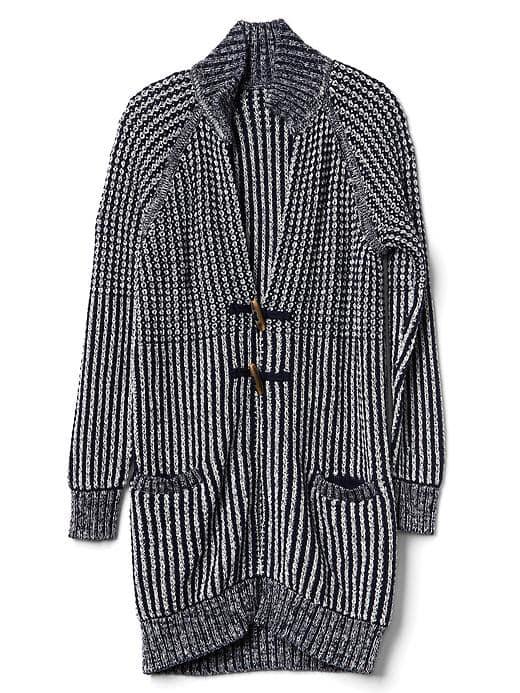 2. Toggle Sweater