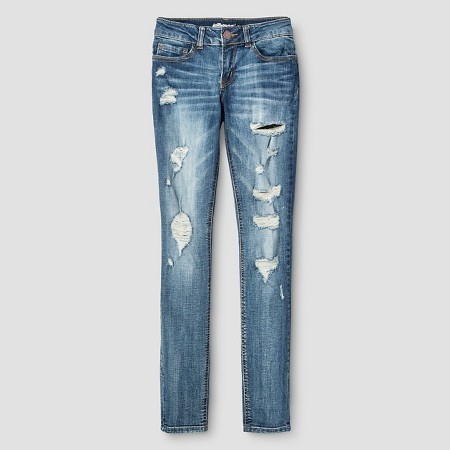 15. Destructed Skinny Jeans