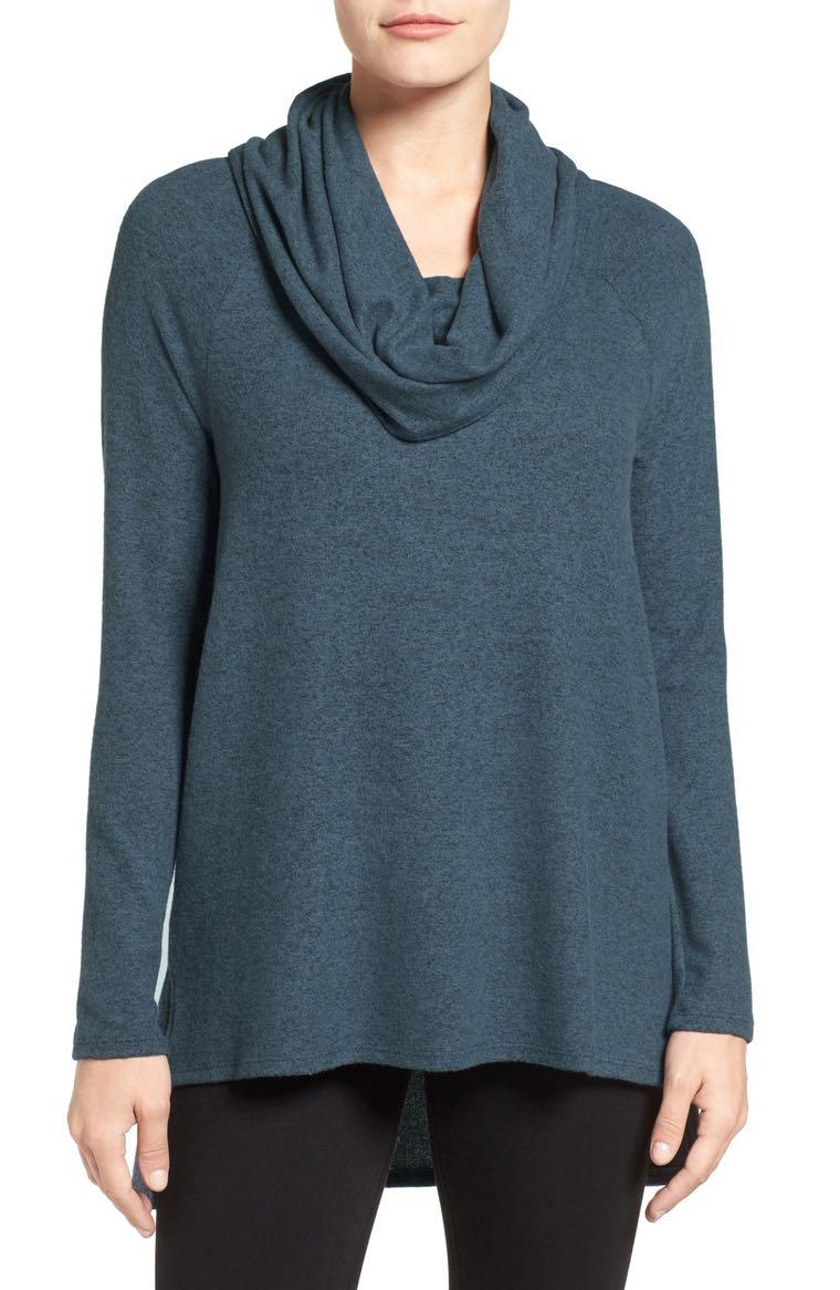 18. Cowl Neck Sweater