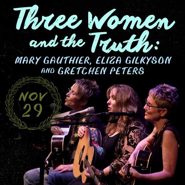 Three Women & The Truth | City Winery | Nashville, TN | November 29th, 2019