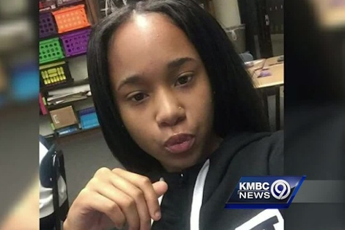 Brannae Brown, 15, was on the porch of a home when she was gunned down in a drive-by shooting in Kansas City, Kansas on September 2, 2016.