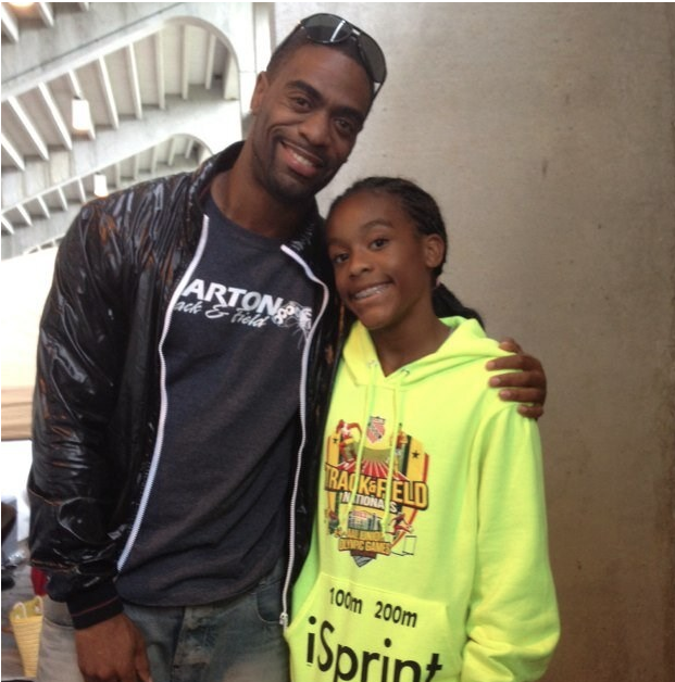 Trinity Gay, the 15-year-old daughter, of Olympic track star Tyson Gay, was shot in the neck early Sunday, October 16, 2016 on the streets of Lexington, Kentucky.