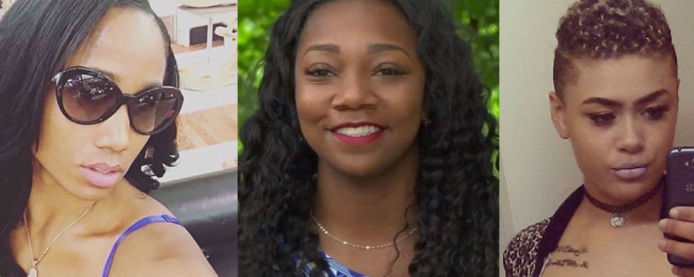 Jokisha Brown, Taylor Hayden and Bridget Shiel were all gunned down in Atlanta in 2016. There are no suspects, police said in a shocking release of unsolved murder cases this week.