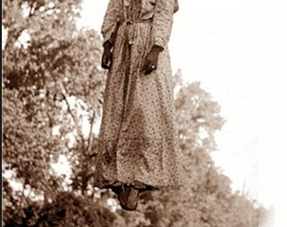 Mary Turner and her unborn child was lynched May 19, 1918 by a mob in Lowndes County, Georgia. Today a historical marker bears the spot of the heinous incident.