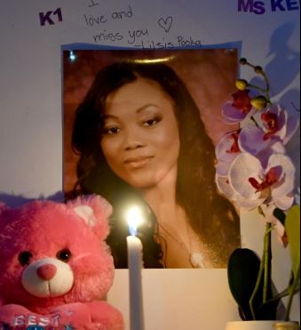 Lajauna Phillips, 36, was shot to death by a sheriff's deputy on Tuesday, October 3, 2018 outside a used car dealership in San Bernardino County, California.