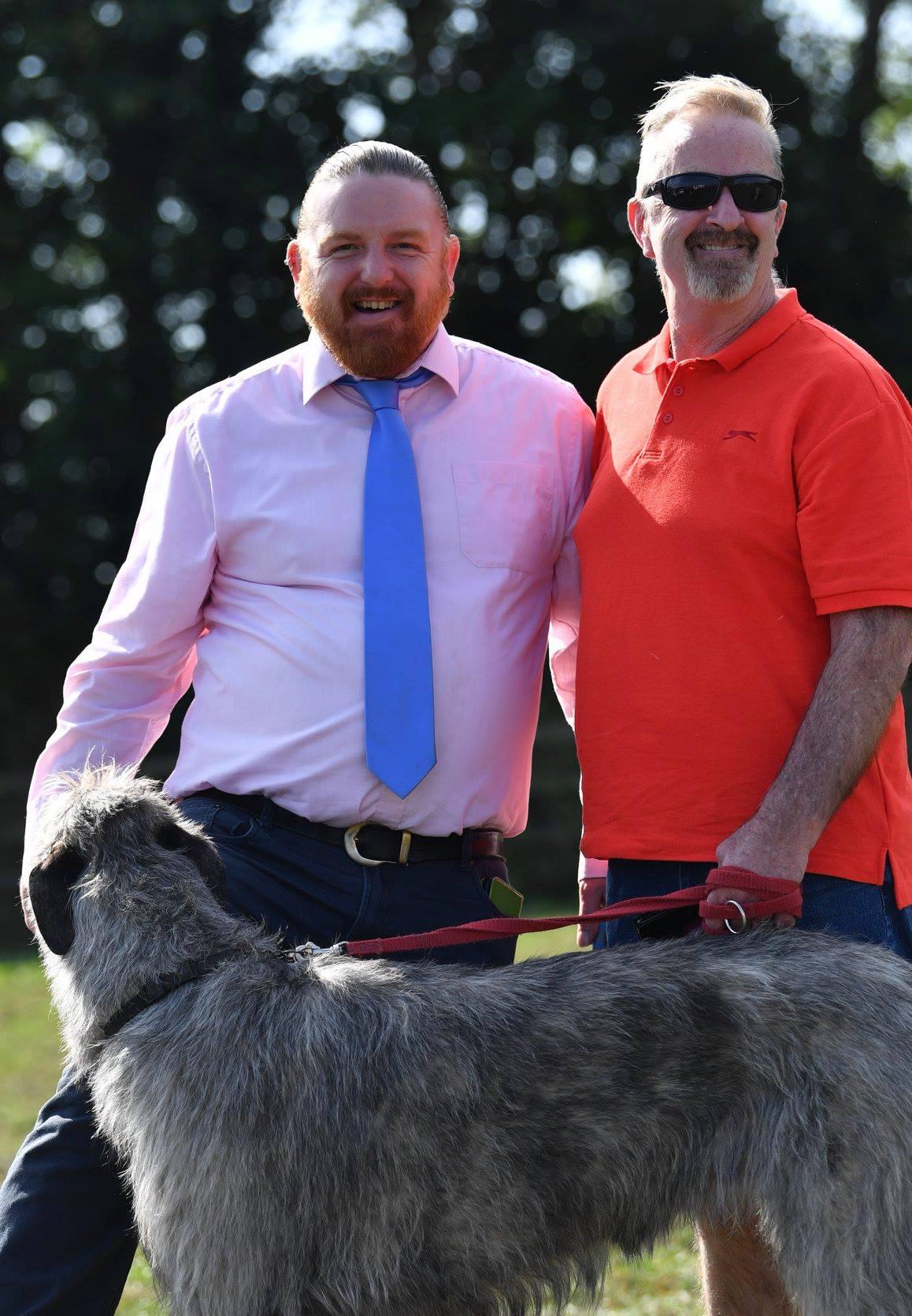 Dave - with Boris