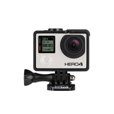 GOPRO HERO 3 and 4  Our weapon of choice for all things action. Our GoPros capture 1080p at 60fps with lifelike clarity, and can create time-lapses in day and night. We also use these for our underwater shots.