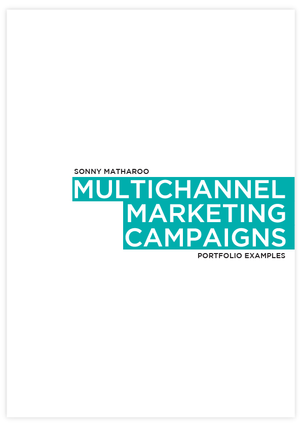 Portfolio of work completed showcasing integrated, multichannel marketing campaign designs I've worked on for The Open University