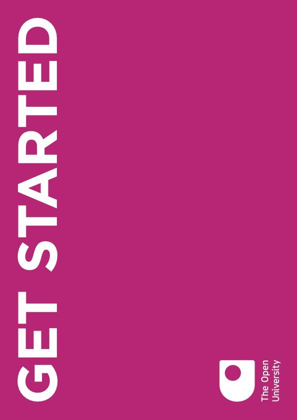 A Get Started Guide which is sent out to prospective students after they've enquired