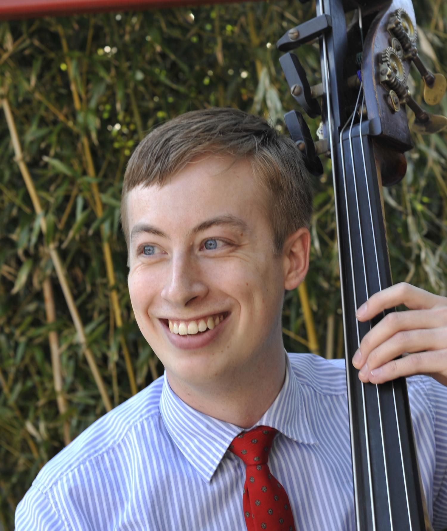 Zachary Hobin, double bass