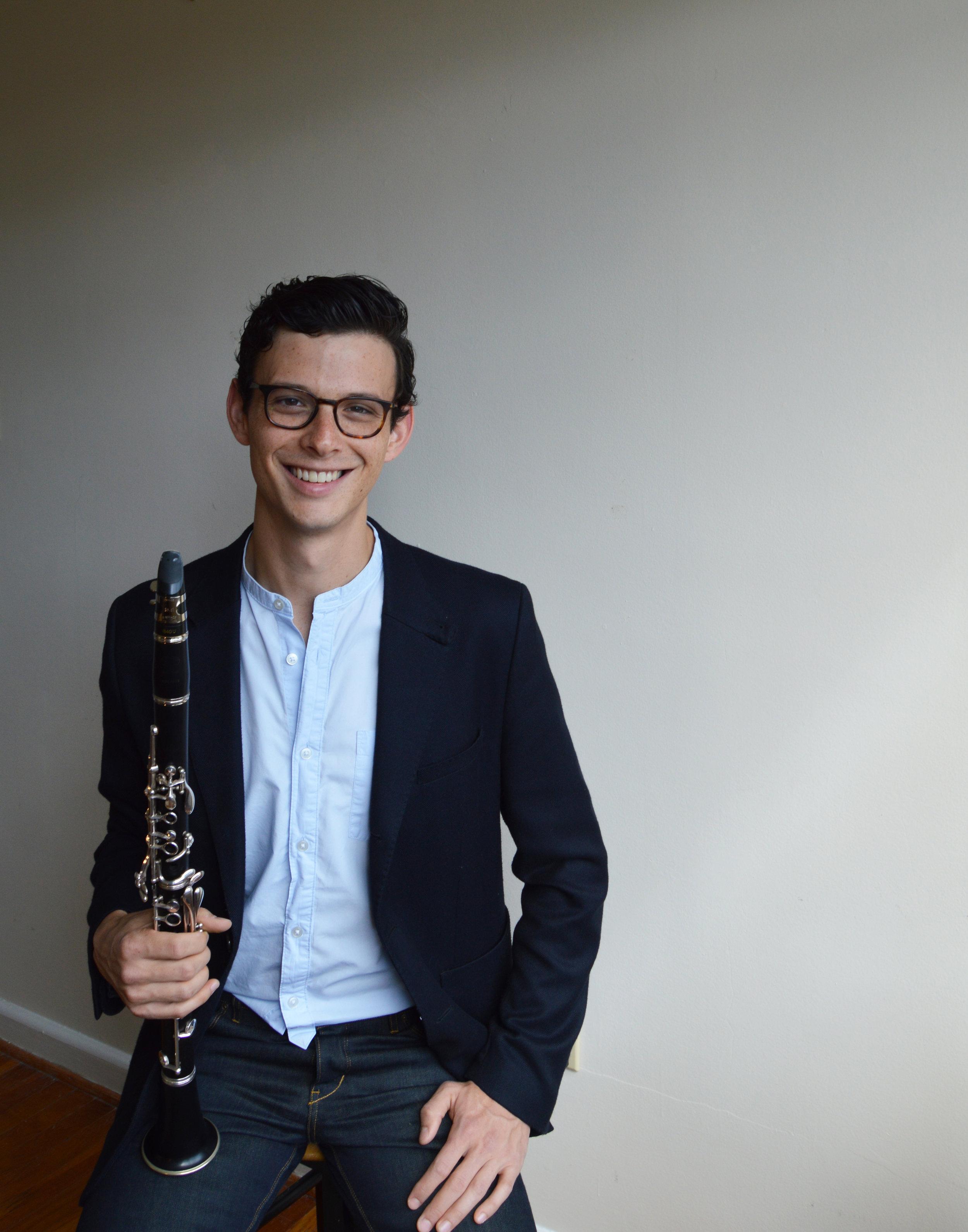 Samuel Almaguer, clarinet