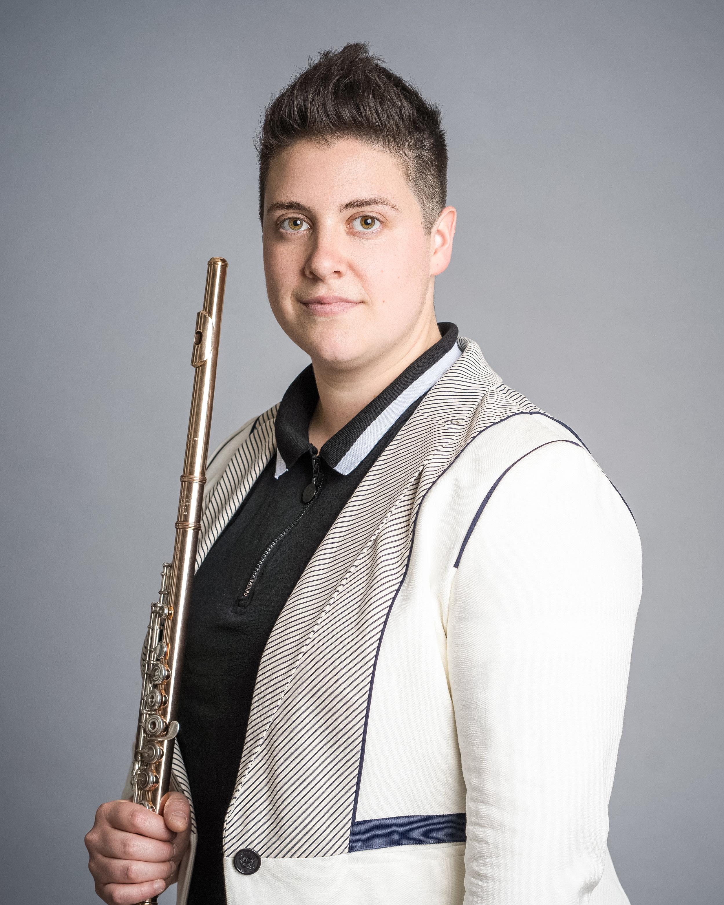 Isabel Lepanto Gleicher, flute